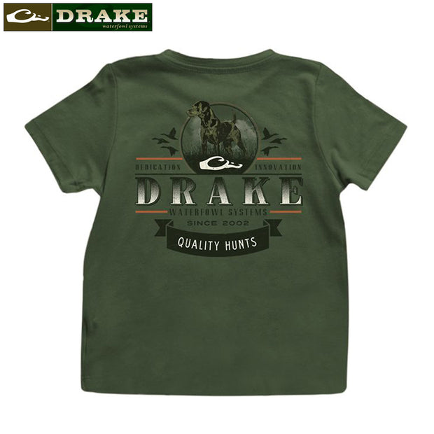 Drake Youth Quality Hunts Tee