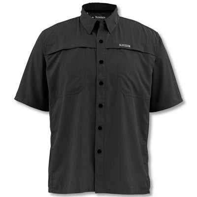 Simms Men's Ebb Tide Short Sleeve Shirt-Liquidate-BLACK-2X-LARGE-Kevin's Fine Outdoor Gear & Apparel
