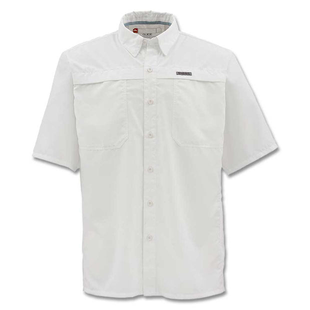 Simms Men's Ebb Tide Short Sleeve Shirt-Liquidate-WHITE-3X-LARGE-Kevin's Fine Outdoor Gear & Apparel