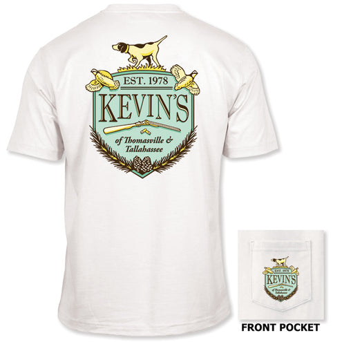 Kevin's Crest Short Sleeve Pocket T-Shirt