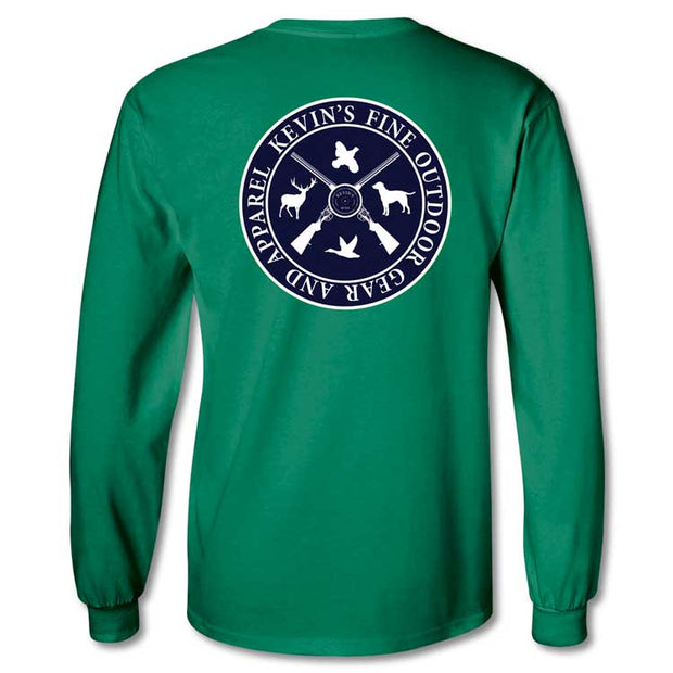 Kevin's Youth Logo Long Sleeve T-Shirt