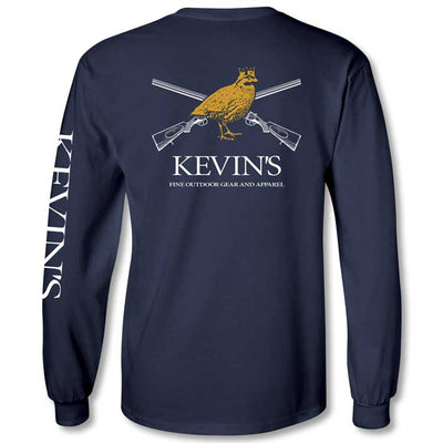 Kevin's Long Sleeve King Bob Gun Logo T-Shirt