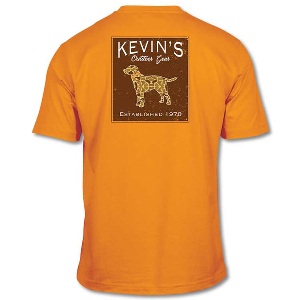 Kevin's Short Sleeve Vint Camo Lab T-Shirt
