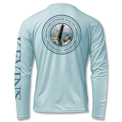 Kevin's Tarpon Jump Performance Long Sleeve Fishing Shirt-T-Shirts-Vapor Apparel-Kevin's Fine Outdoor Gear & Apparel