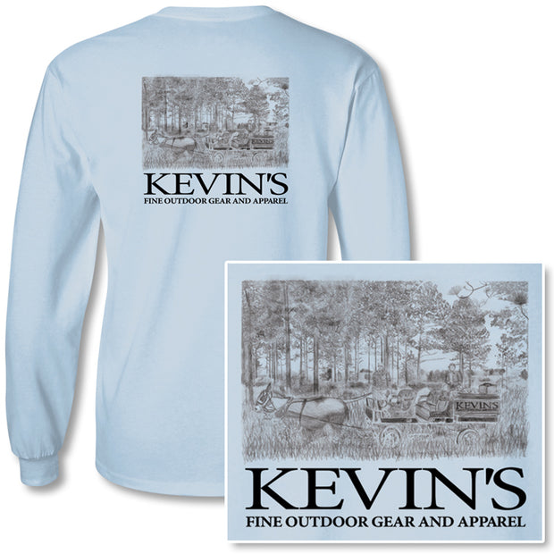 Kevin's Long Sleeve Wagon T-Shirt