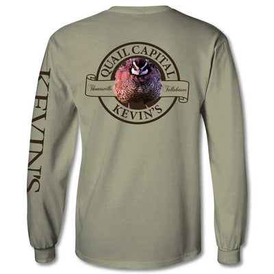Kevin's Long Sleeve Quail Capital Long Sleeve T-Shirt