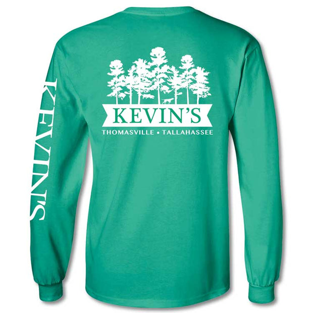 Kevin's Long Sleeve Pine Long Sleeve T-Shirt