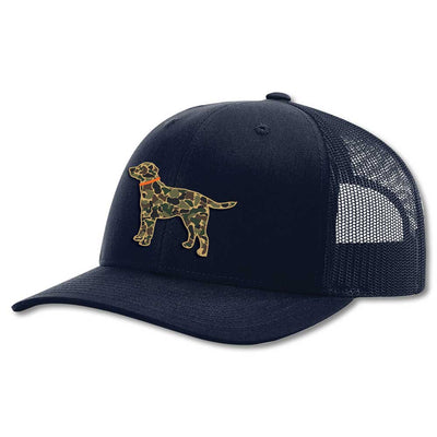 Kevin's Kids Trucker Hat-CHILDRENS CLOTHING-NAVY-CAMO DOG-Kevin's Fine Outdoor Gear & Apparel