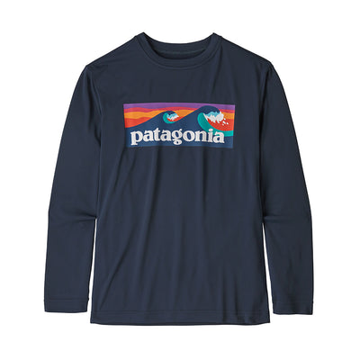 Patagonia Boy's Cap Cool Daily T-Shirt-CHILDRENS CLOTHING-PATAGONIA, INC.-New Navy-S-Kevin's Fine Outdoor Gear & Apparel