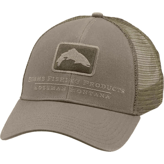Simms Trout Icon Trucker-MENS CLOTHING-Simms Fishing Products-TUMBLEWEED-Kevin's Fine Outdoor Gear & Apparel