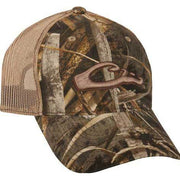 Drake Mesh Back 6-Panel Camo Logo Cap-MENS CLOTHING-DRAKE WATERFOWL SYSTEMS (Icon)-MAX 5-Kevin's Fine Outdoor Gear & Apparel