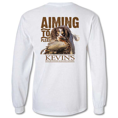 Kevin's Aim To Please Long Sleeve T-Shirt