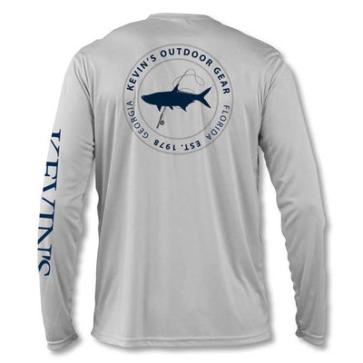 Kevin's L/S Performance T-Shirt - Circle Tarpon