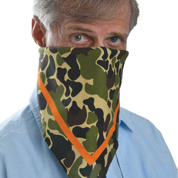 Kevin's Cotton Quail Hunt Bandana/Dinner Napkin-WOMENS CLOTHING-Kevin's Fine Outdoor Gear & Apparel