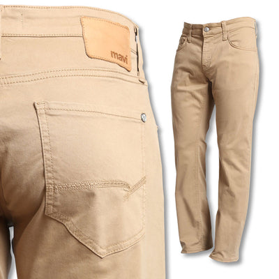 Men's Mavi Zach Twill Jeans-MENS CLOTHING-Mavi Jeans-BRITISH KHAKI-30-30-Kevin's Fine Outdoor Gear & Apparel