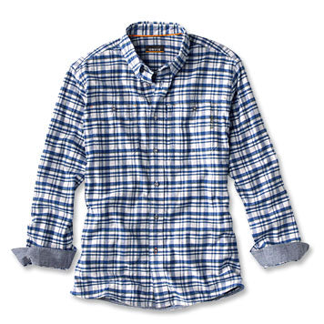 Orvis Flat Creek Tech Flannel-MENS CLOTHING-Kevin's Fine Outdoor Gear & Apparel