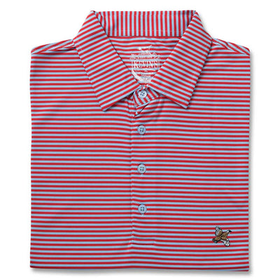 Kevin's Stretch Performance Striped Polo-MENS CLOTHING-ICE BLUE/RED-S-Kevin's Fine Outdoor Gear & Apparel
