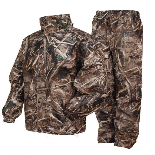 Frogg Toggs Combo Rain Suit-CAMO CLOTHING-Frogg Togg-Guntersville Breathables-MAX5-2XL-Kevin's Fine Outdoor Gear & Apparel