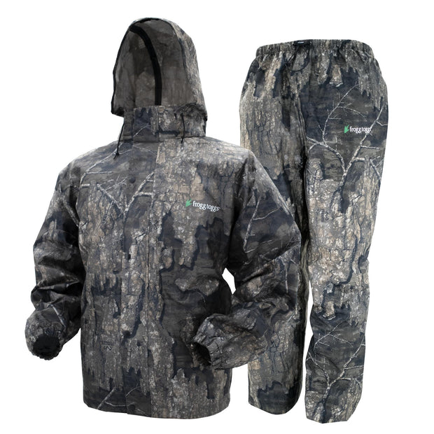 Frogg Toggs Combo Rain Suit-CAMO CLOTHING-Frogg Togg-Guntersville Breathables-TIMBER-2XL-Kevin's Fine Outdoor Gear & Apparel