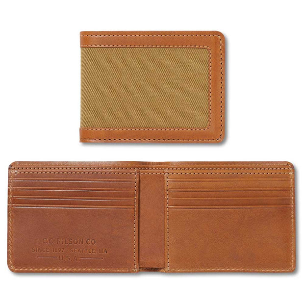 Filson Outfitter Wallet-MENS CLOTHING-TAN-Kevin's Fine Outdoor Gear & Apparel