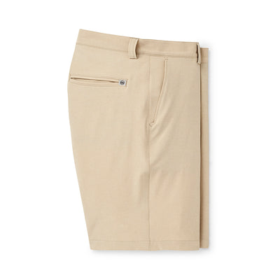 Peter Millar Shackleford Hybrid Melange Shorts
