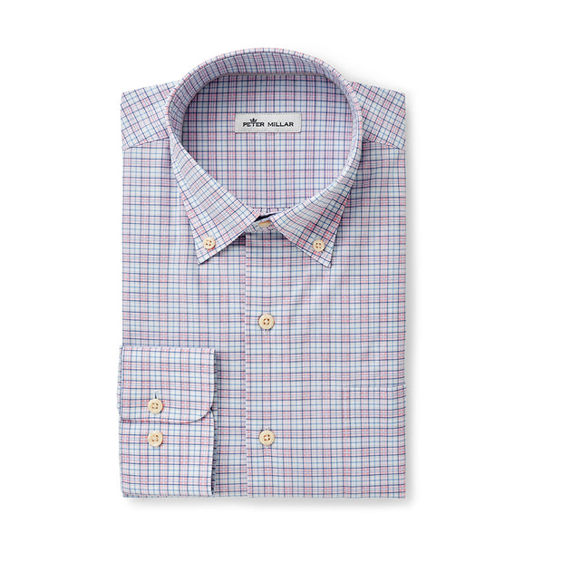 Peter Millar Clarence Check Button Down