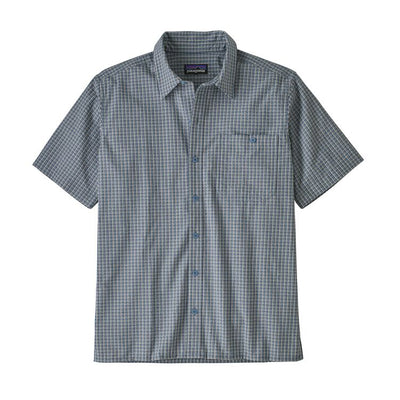 Patagonia Men's Puckerware Shirt-MENS CLOTHING-PATAGONIA, INC.-Pebble Blue Plaid-S-Kevin's Fine Outdoor Gear & Apparel