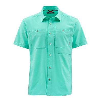 Simms Men's Double Haul S/S Shirt-MENS CLOTHING-Aruba-M-Kevin's Fine Outdoor Gear & Apparel