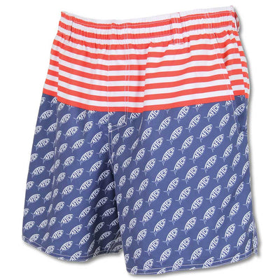 AFTCO Capt. Volley Swim Trunk-MENS CLOTHING-M-Kevin's Fine Outdoor Gear & Apparel