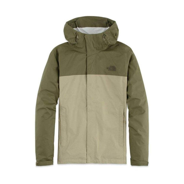 The North Face Men's Venture 2 Jacket-MENS CLOTHING-THE NORTH FACE-Twill Beige/Olive-M-Kevin's Fine Outdoor Gear & Apparel