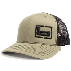 Banded Side Logo Trucker Cap