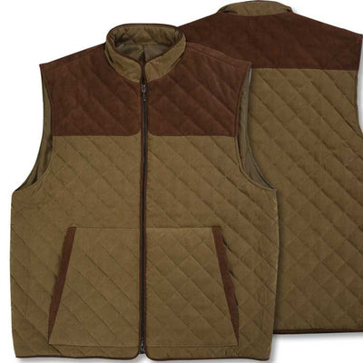 Kevin's Men's Quilted Vest-MENS CLOTHING-Tyler Boe-OLIVE-2XL-Kevin's Fine Outdoor Gear & Apparel