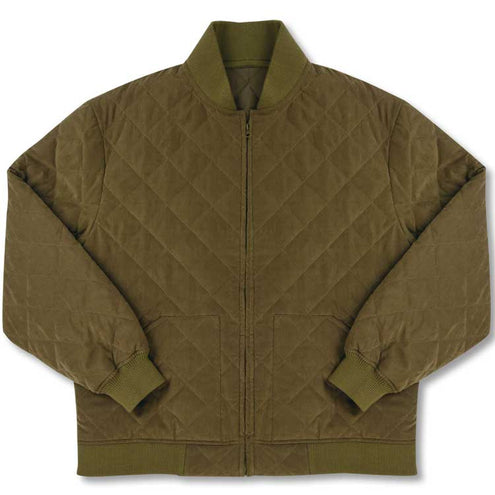 Kevin's Big & Tall Quilted Bomber Jacket