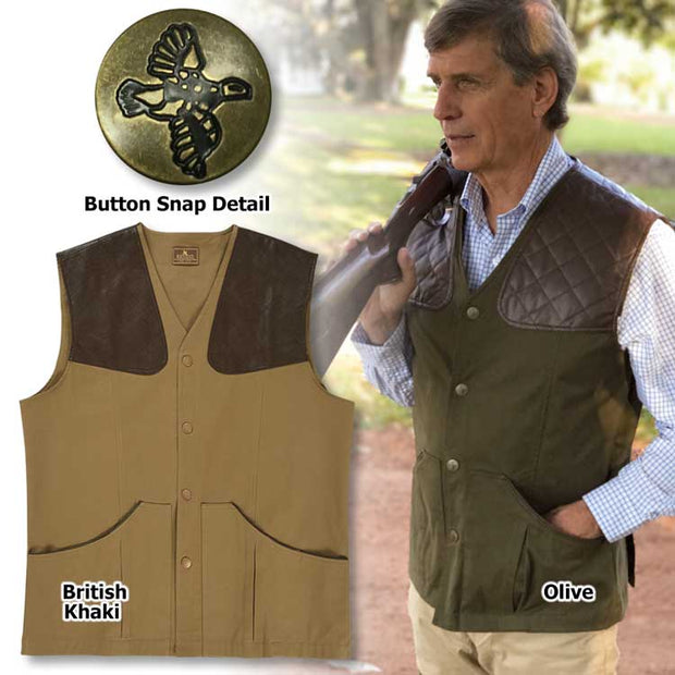 Kevin's Big & Tall Plantation Vest