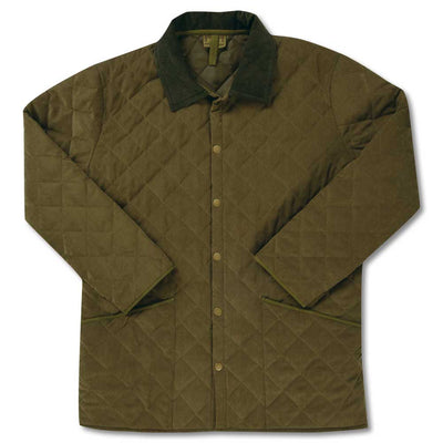 New! Kevin's Quilted Barn Jacket-MENS CLOTHING-Olive-S-Kevin's Fine Outdoor Gear & Apparel