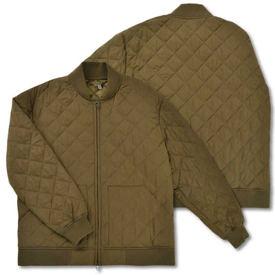 Kevin's Quilted Bomber Jacket-Olive-S-Kevin's Fine Outdoor Gear & Apparel