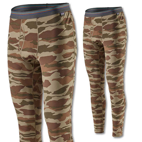 Patagonia Men's Capilene Midweight Bottoms-Liquidate-Bear Witness Camo-S-Kevin's Fine Outdoor Gear & Apparel