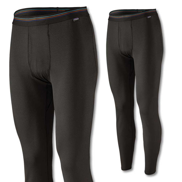 Patagonia Men's Capilene Midweight Bottoms-Liquidate-BLK BLACK-2XL-Kevin's Fine Outdoor Gear & Apparel