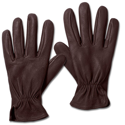 Filson Original Deer Skin Glove-MENS CLOTHING-BROWN-LG-Kevin's Fine Outdoor Gear & Apparel