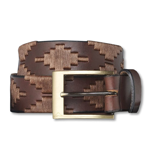 PAMPEANO HABANO LEATHER BELT