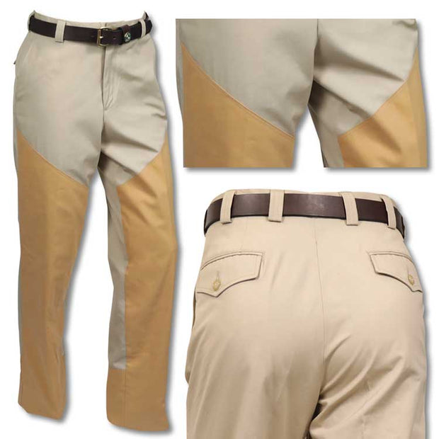 Kevin's American Made Hand Tailored Poplin Flat Front Brush Pant