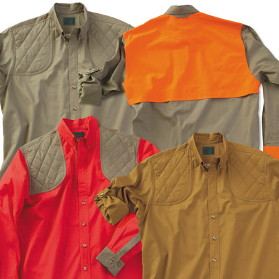Kevin's Feather-Weight Vented-Back Long Sleeve Dual Patch Shooting Shirt-HUNTING/OUTDOORS-Kevin's Fine Outdoor Gear & Apparel
