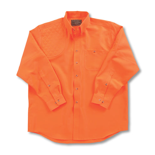 Kevin's Long Sleeve Single Right Patch Shooting Shirt-HUNTING/OUTDOORS-Advantage Apparel-BLAZE-S-Kevin's Fine Outdoor Gear & Apparel