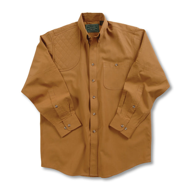 Kevin's Long Sleeve Single Right Patch Shooting Shirt-HUNTING/OUTDOORS-Advantage Apparel-TOBACCO-S-Kevin's Fine Outdoor Gear & Apparel