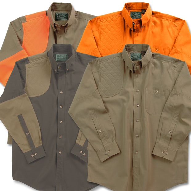 Kevin's Big & Tall Long Sleeve Right Patch Shoot Shirt