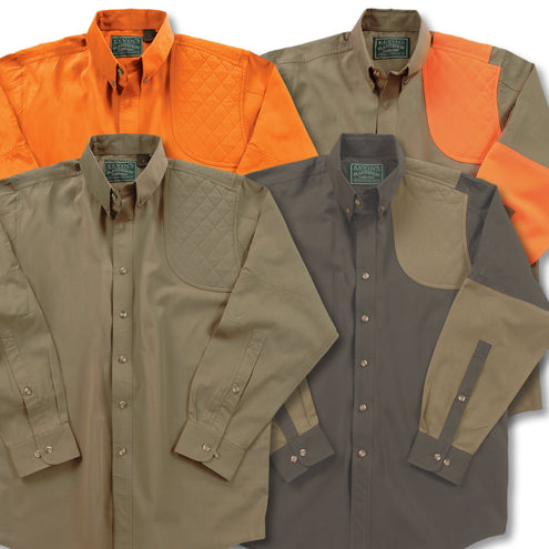 Kevin's Long Sleeve Left Hand Shooting Shirt-MENS CLOTHING-Kevin's Fine Outdoor Gear & Apparel