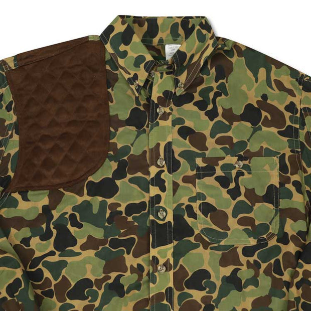 Kevin's Big and Tall Camo L/S Right Chocolate Patch Shooting Shirt-HUNTING/OUTDOORS-Advantage Apparel-CAMO-2XLT-Kevin's Fine Outdoor Gear & Apparel