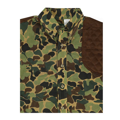Kevin's Camo L/S Left Chocolate Patch Shooting Shirt-HUNTING/OUTDOORS-Kevin's Fine Outdoor Gear & Apparel