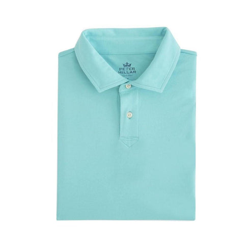 Peter Millar Youth Seaside Wash Solid Polo