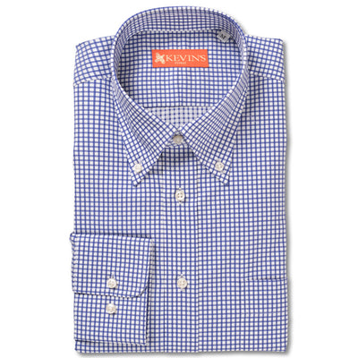 Kevin's Finest 100% Egyptian Cotton Check Shirt